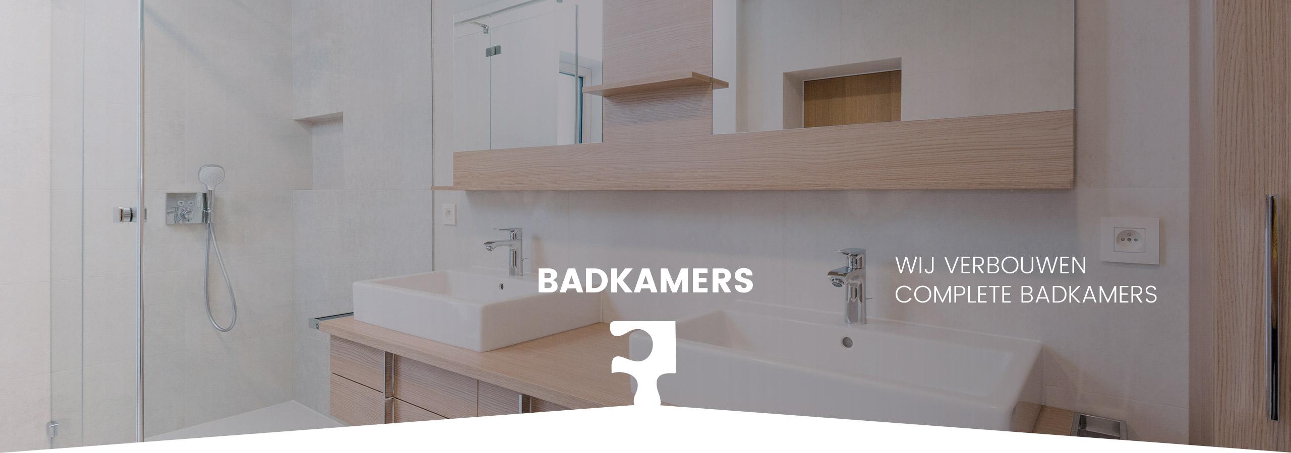 Badkamer verbouwen door de installateur uit Lochem